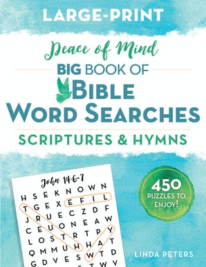 Peace of Mind Big Book of Bible Word Searches book image
