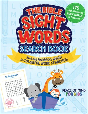 The Bible Sight Words Search Book book image