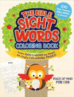The Bible Sight Words Coloring Book