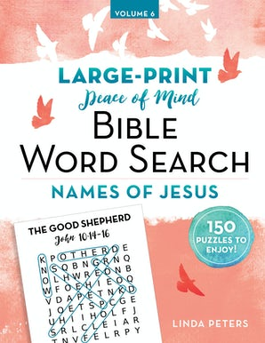 Peace of Mind Bible Word Search Names of Jesus book image
