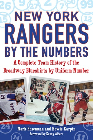 New York Rangers by the Numbers book image