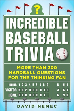 Incredible Baseball Trivia book image