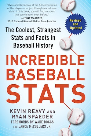 Incredible Baseball Stats book image