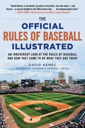 The Official Rules of Baseball Illustrated book image
