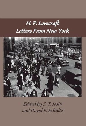 The Lovecraft Letters Volume 2: Letters from New York book image