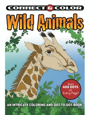 Connect and Color: Wild Animals book image