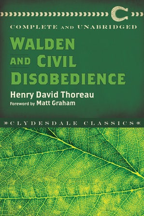 Walden and Civil Disobedience book image