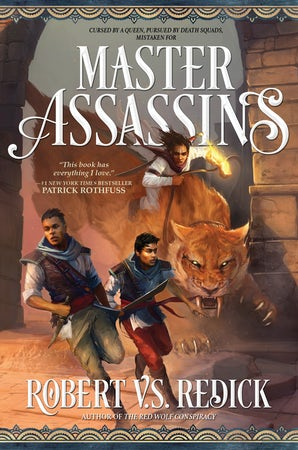 Master Assassins book image