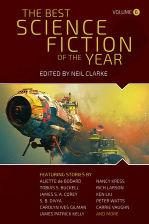 The Best Science Fiction of the Year book image