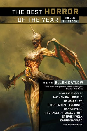 The Best Horror of the Year Volume Thirteen book image