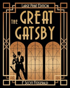 The Great Gatsby (LARGE PRINT) book image