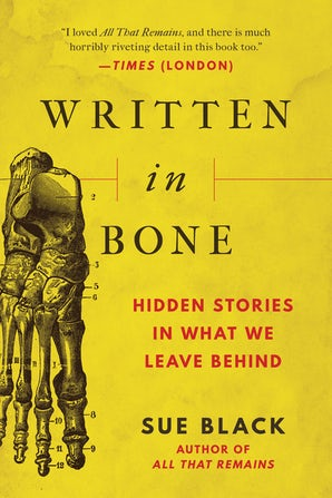 Written in Bone book image